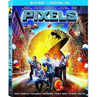 Pixels [Blu-ray] USA import