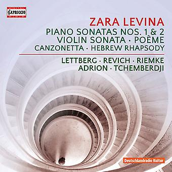 Piano Sonatas 1 & 2 / Violin Sonata / Poeme [CD] USA import
