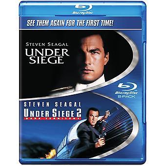 Under Siege/Under Siege: Dark Territory [Blu-ray] USA import