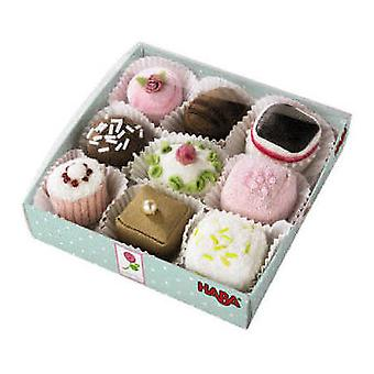 HABA - Play Food Petit Fours Set of 9 3808