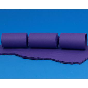 12 Rich Purple Make & Fill Your Own DIY ReyClable Christmas Cracker Boards