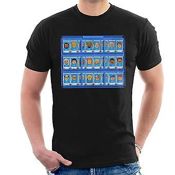 Hasbro Guess Who Blue Board Men's Camiseta