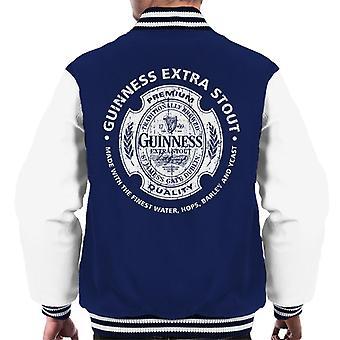 Guinness Premium Quality Men's Varsity Jacket