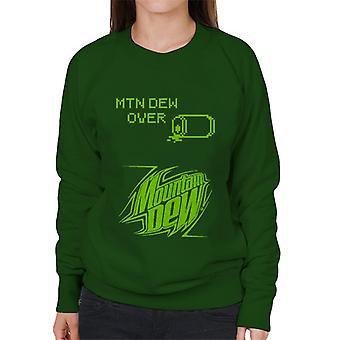 Mountain Dew retro arcade tema kvinner ' s Pullover