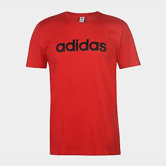 adidas Lineer Logo T-Shirt Erkek