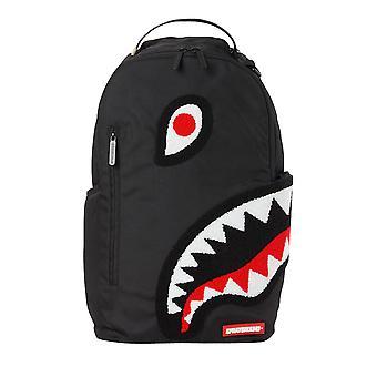 Sprayground Torpedo Shark Black Backpack