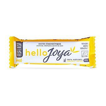 Hemp-Almonds-Goji Organic Energy Bar 40 g