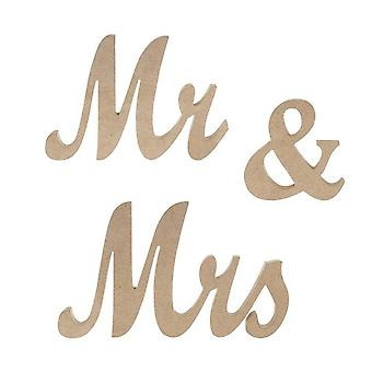 Mr&Mrs Sign Rustic Wood Home Decorations Wood Color