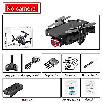 Mini Rc Drone 4k Hd Camera Wifi Fpv Air Pressure Altitude Maintenance 15