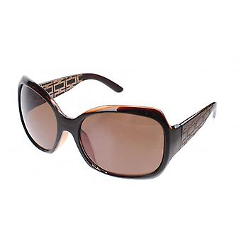 Sunglasses Women's Black with Brown Lens (A60420)