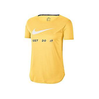 נייקי Wmns סווש לרוץ CJ1970795 אוניברסלי כל השנה נשים חולצת טריקו
