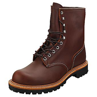 Red Wing Logger Mens Classic Boots in Briar