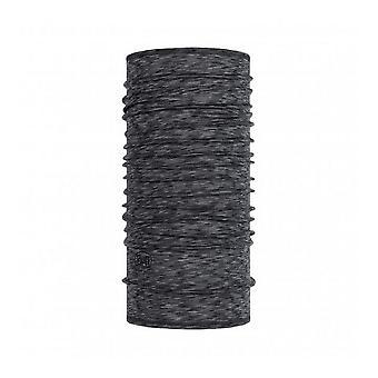 Buff Merino Wool Neck Warmer Graphite Stripes