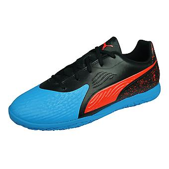 Puma ONE 19.4 IT Boys Indoor Football Trainers - Blue