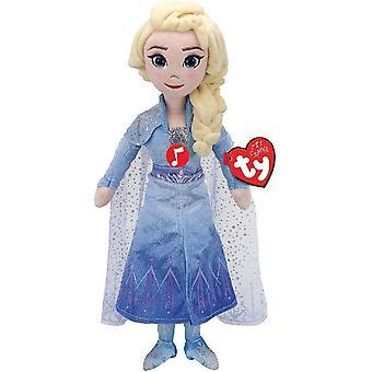 Ty Beanie Babie - Disney Queen Elsa met Sound Kids Speelgoed