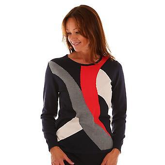LEBEK Lebek Green Of Navy Sweater 2028