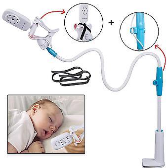 TRIXES Baby Monitor Holder -Newborn Essentials -1M Flexible Rotating Mount