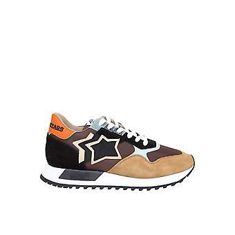 Atlantic Stars Dracojmnncr01 Männer's Multicolor Leder Sneakers