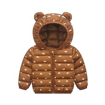 Manteau de bébé d'automne Chaud Vestes de dessin animé vestes nouveau-nés Manteau Outerwear