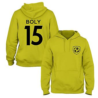 Willy Boly 15 Wolves Style Player Football Hoodie
