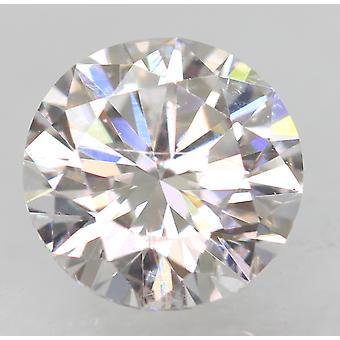 معتمد 0.47 قيراط D VVS2 جولة رائعة المحسنة الماس الطبيعي 4.96mm 3EX