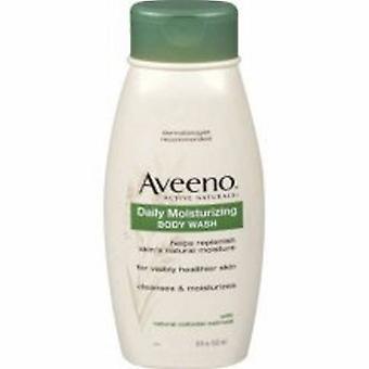 Aveeno Body Wash Liquid 18 oz. Bottle Scented, 1 Each