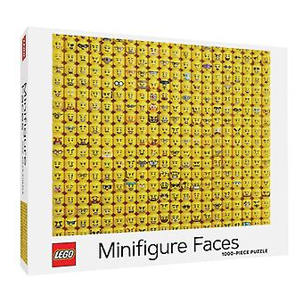LEGO R Minifigure Faces 1000Piece Puzzle by LEGO