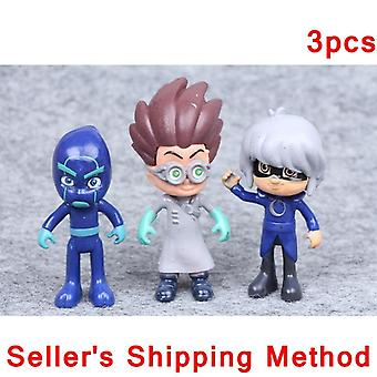 Juguete Cartoon Movies Character Pj Masques, Catboy Owlgilrs Gekko Anime Figures