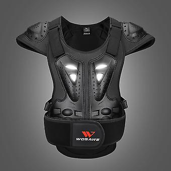 Wosawe Winter Eva SkiIng Jacket- Moto Armour Vest Chest Protectors
