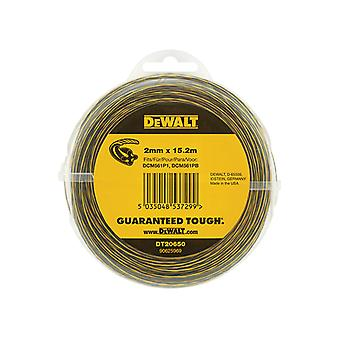 DEWALT DT20650 Trimmer Line 2mm x 15.2m