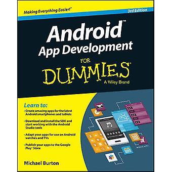 Développement d'application Android pour les nuls