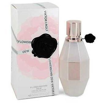 Flowerbomb Dew By Viktor & Rolf Mini Edp Spray .33 Oz (women) V728-552862
