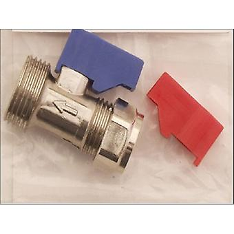 Primaflow Washing Machine Valve Straight 15mm x 0.75in 90007001