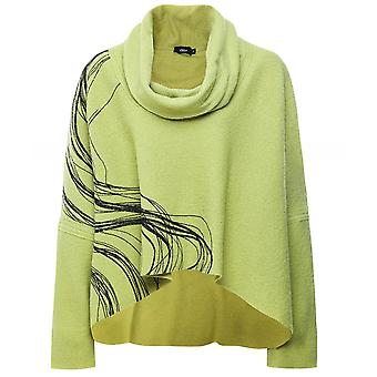 Ralston Mizo Wool Swirl Cowl Neck Top