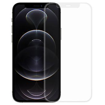 Cam iPhone 12 Pro Max Mat Anti-Reflektif Anti-Şok Anti-Trace Mavi Berrak