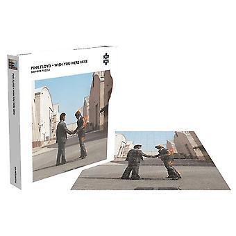 ピンクフロイドジグソーパズルウィッシュあなたがここにいたアルバムカバー新公式500ピース