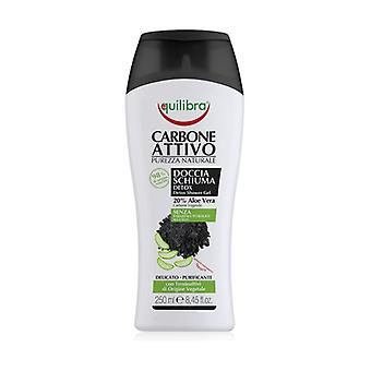 Activated Charcoal Shower gel 250 ml