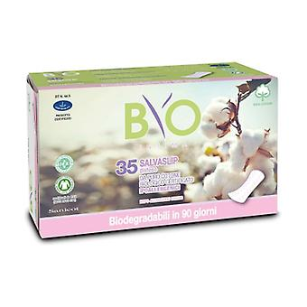 Panty Liner Stretched Cotton - Bio Compostable Cover 35 units