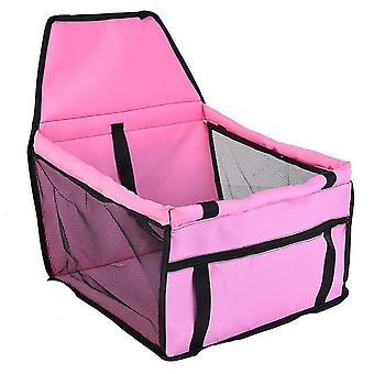 Waterproof Pet Car Seat Cover - Travel Carrier Basket