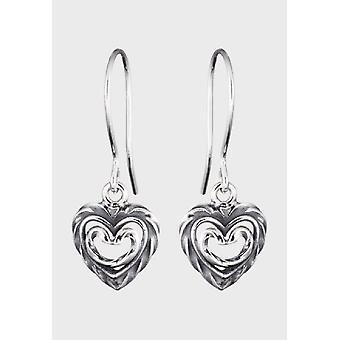 Kalevala Earrings Women's Heart of the House Silver 2665000K