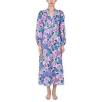 Zimmermann 7114dpoplif Women's Lilac Linen Dress