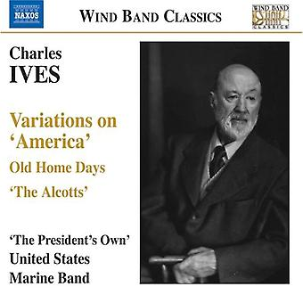 C. Ives - Ives: Variations on America [CD] USA import