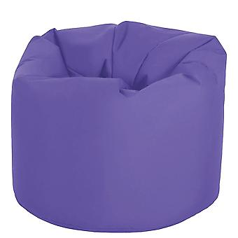 Purple Garden Beanbag Chair Outdoor Indoor Water Resistant Bean bag Lounger Gaming Seat