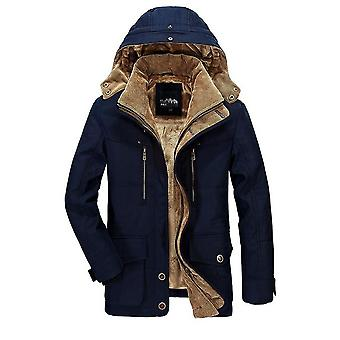 Winter Jacket Men Thick Windbreaker High-quality Fleece Military Clothing