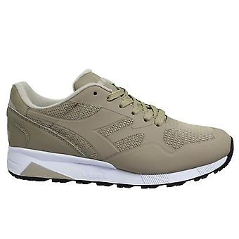 Diadora N902 MM Grey Cobblestone Low Lace Up Mens Running Trainers 75013