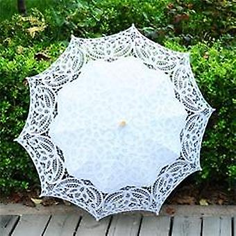 Fashion Lace Sun Parasol Bride Wedding Umbrella