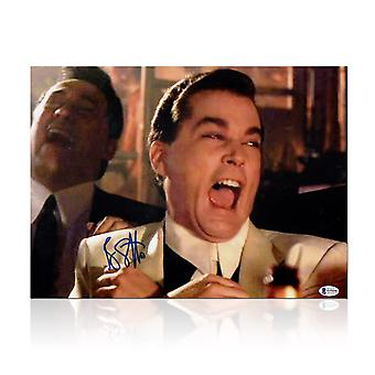 Ray Liotta Signed Goodfellas Photo: Funny Guy