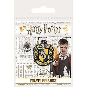 Harry Potter Emaille Hufflepuff Abzeichen