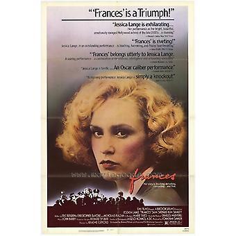 Frances Movie Poster drucken (27 x 40)