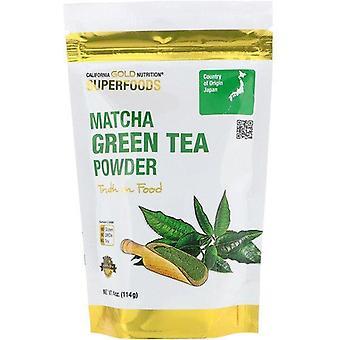 California Gold Nutrition, Superfoods, Matcha Green Tea Powder, 4 oz (114 g)